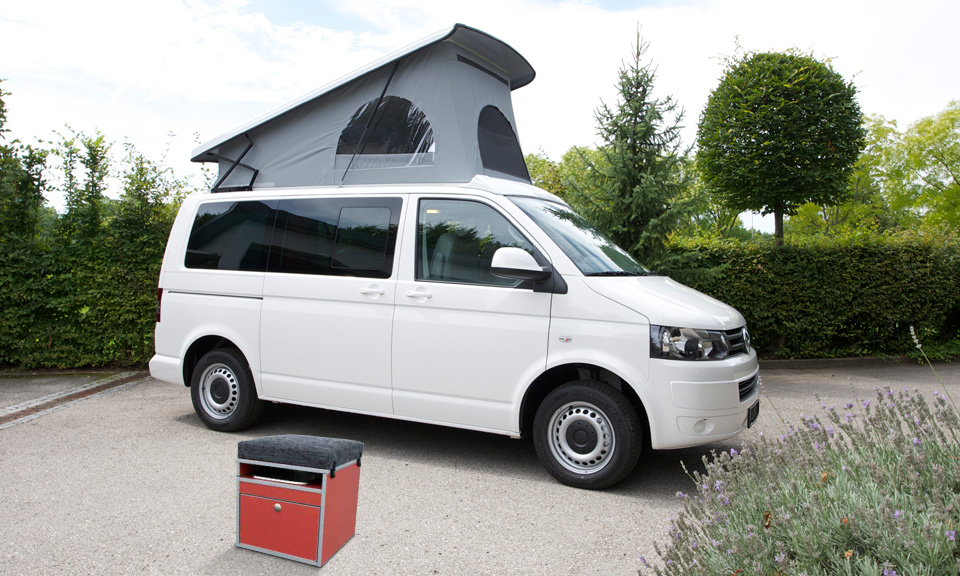 CMT Stuttgart 2012: Fischer-Wohnmobile zeigt Modulsystem Camper Cube, Roll-Lattenrost und Reisemobil Rondo L