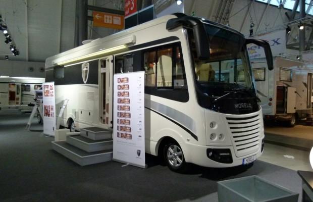 CMT Stuttgart 2012: Morelo Palace 100 GS – Topmodell mit Pkw-Garage auf MAN-Basis