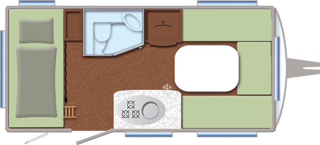 CMT Stuttgart 2012: TEC präsentiert Caravan Sondermodelle Travel Style 410