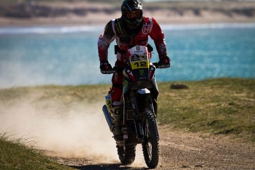 Dakar 2012: Etappe 1 Mar del Plata – Husqvarna Rallye Team by Speedbrain startet überlegt