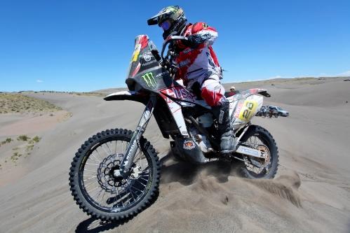 Dakar 2012: Etappe 2 Santa Rosa de la Plata – Husqvarna mit erstem Podiumsplatz