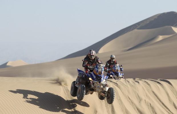 Dakar 2012: Peterhansel und Despres auf Siegeskurs