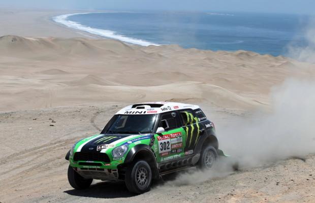 Dakar 2012: Robby Gordon gibt sich geschlagen