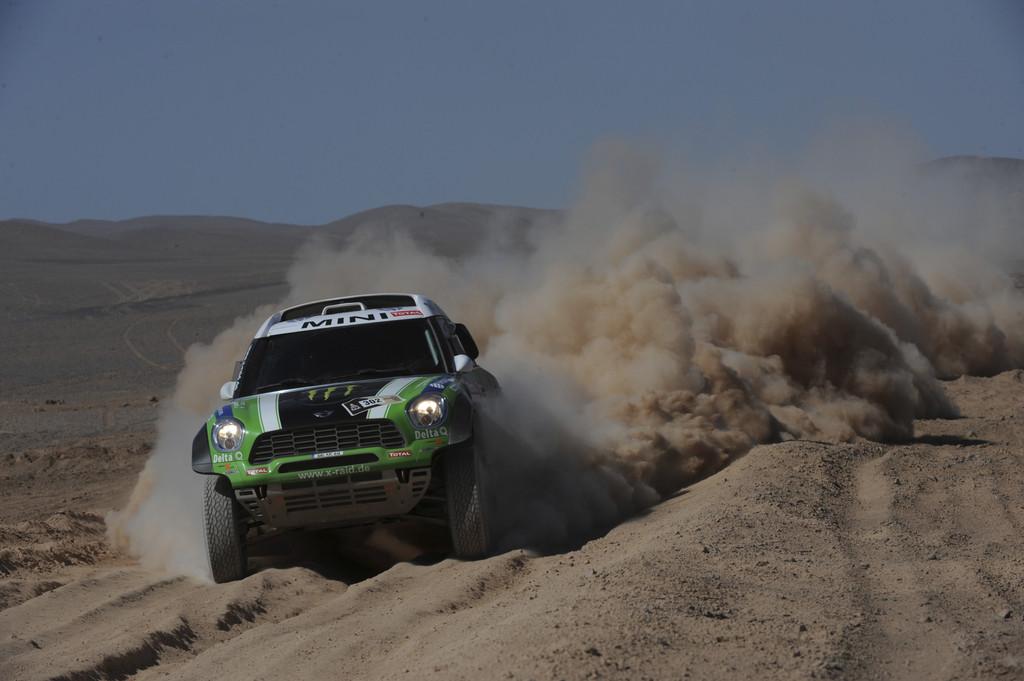 Dakar 2012: Robby Gordon holt sich Mini All4 Racing von Stéphane Peterhansel.