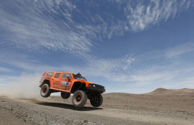 Dakar 2012: Robby Gordon jagt Stéphane Peterhansel