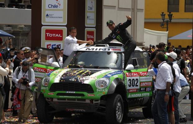 Dakar 2012: Stéphane Peterhansel und Cyril Despres holen sich den Sieg