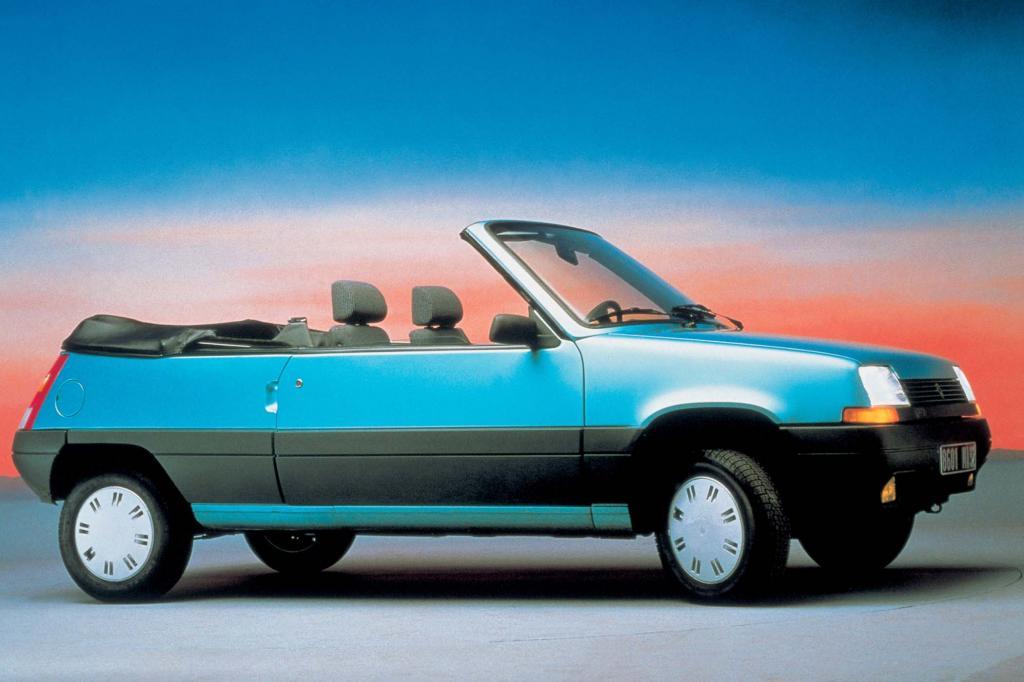 Das Cabrio blieb ein Einzelstück