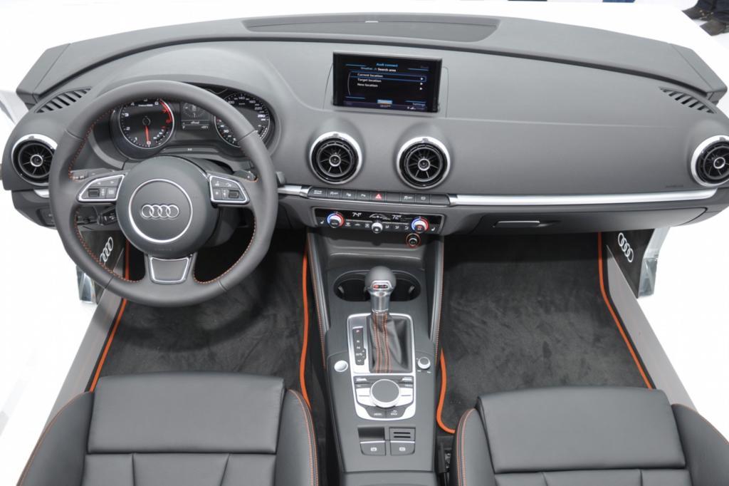 Das Cockpit des Audi A3 wird in der kommenden Generation kräftig aufgewertet