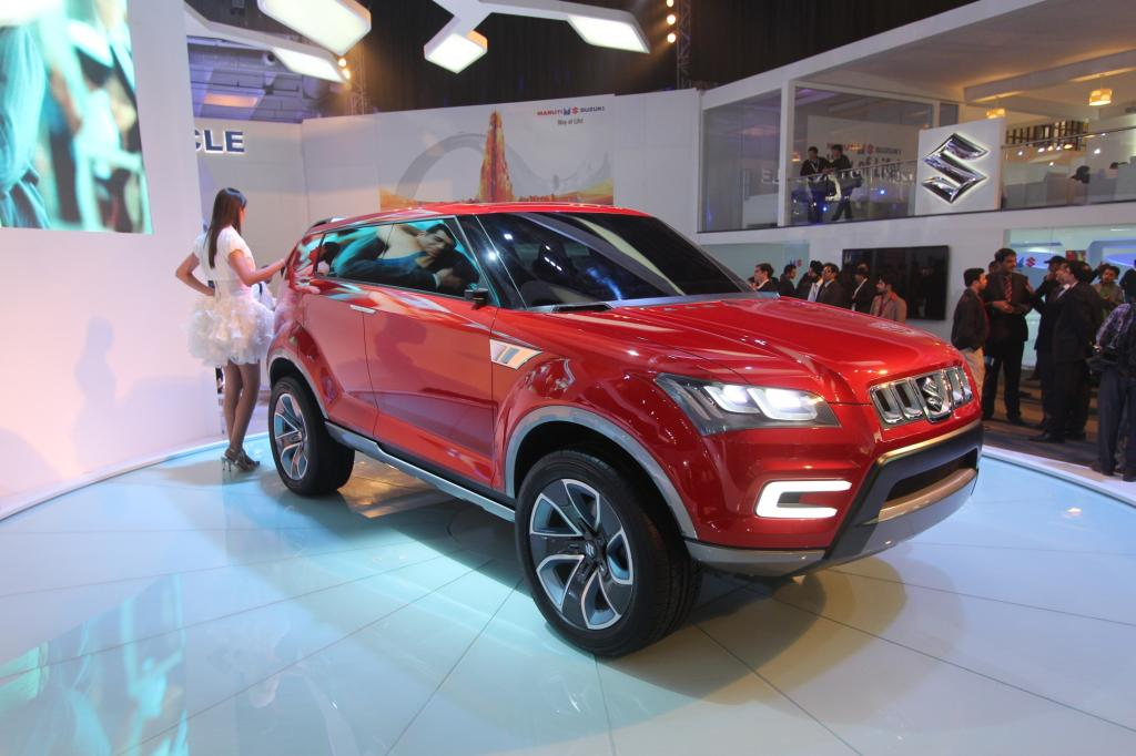 Dehli 2012: Suzuki XA Alpha - Ablösung für einen Senior
