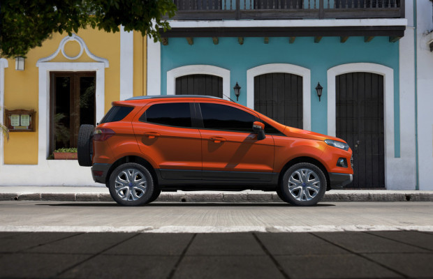 Delhi 2012: Ford stellt den Eco Sport vor