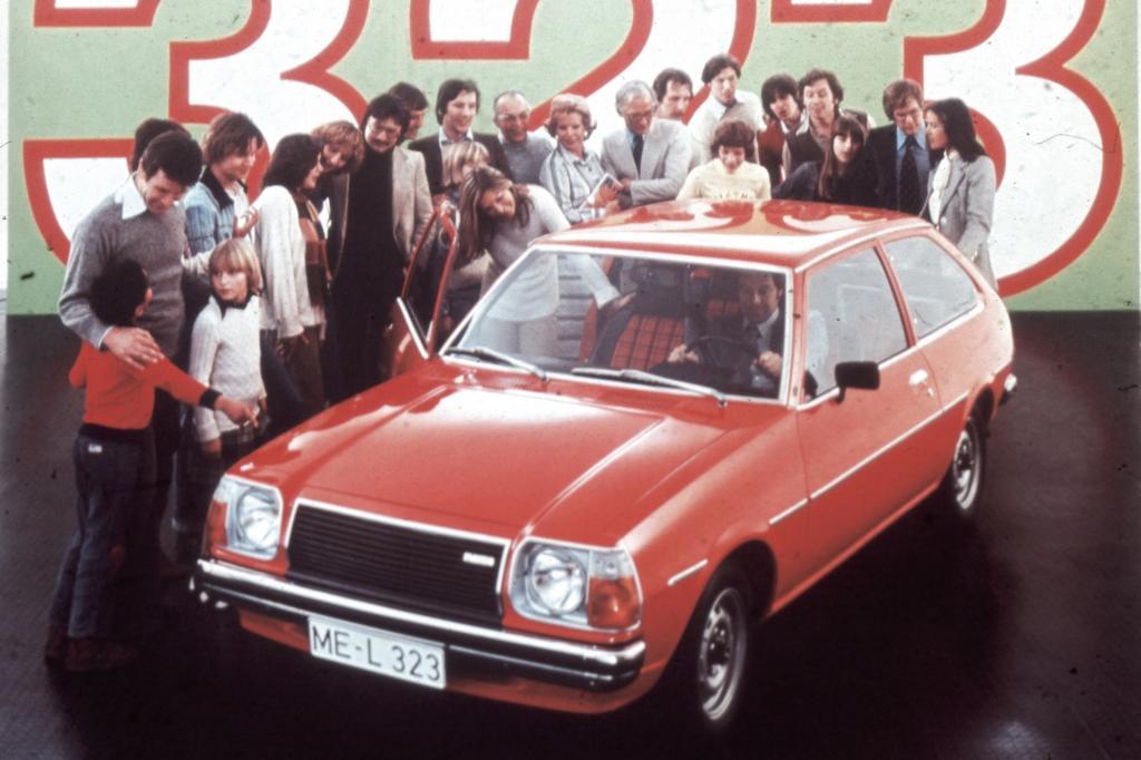 Der 323 war das erste Erfolgsmodell von Mazda in Deutschland