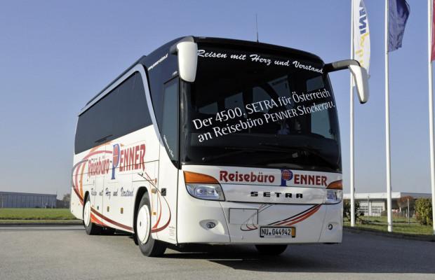 Der 4500ste Setra für Österreich