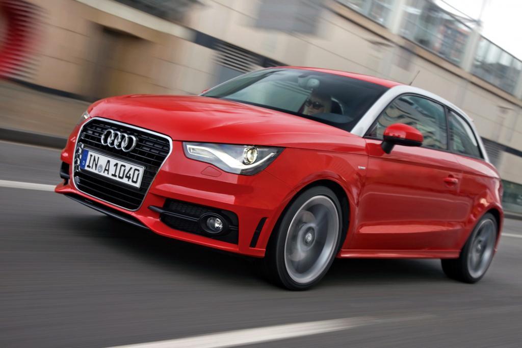 Der Audi A1 ist der sparsamste Benziner-Kleinwagen