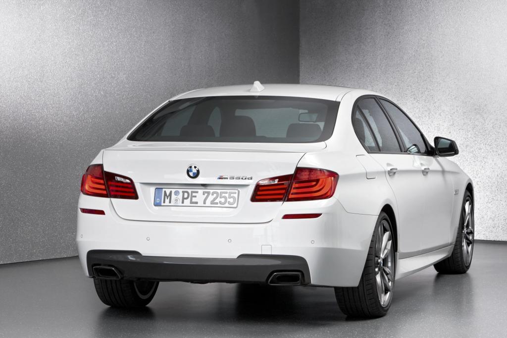 Der BMW M550d bringt es auf 381 PS