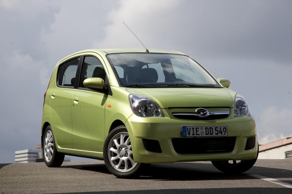 Der Daihatsu Cuore führt die Verbrauchsliste bei den Kleinstwagen mit Ottomotor an
