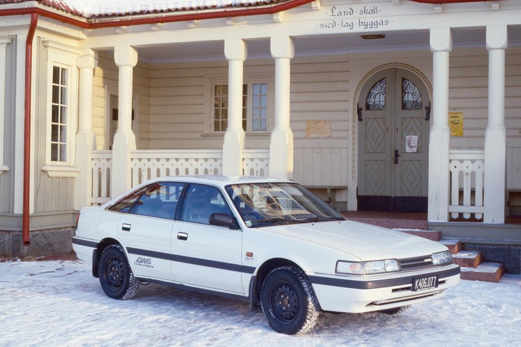 Der Mazda 626 trat gegen VW Passat und Co. an