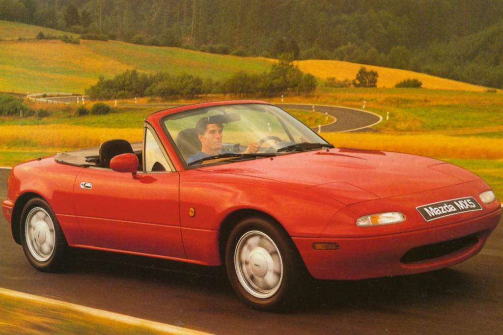 Der Mazda MX-5 ist längst ein Klassiker
