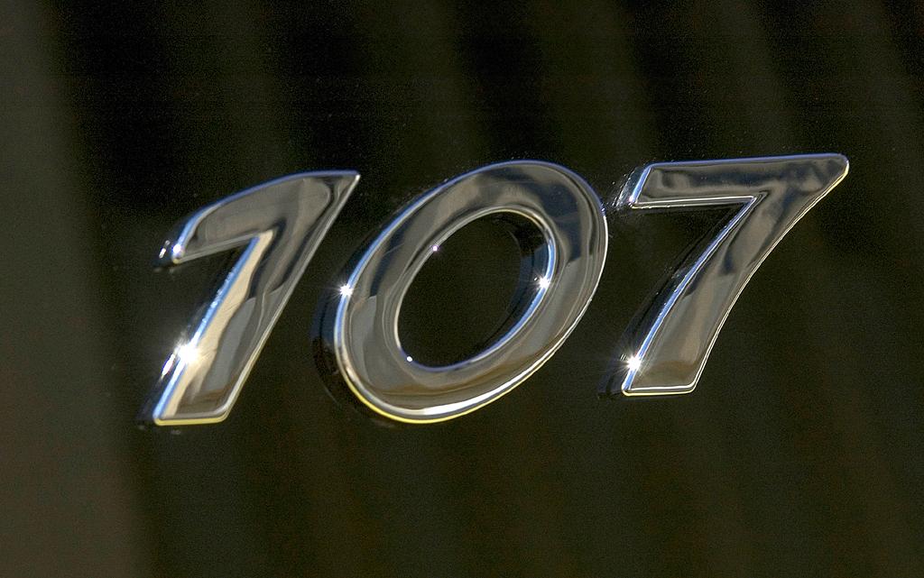 Der Peugeot 107 ist das Einstiegsmodell der Marke.