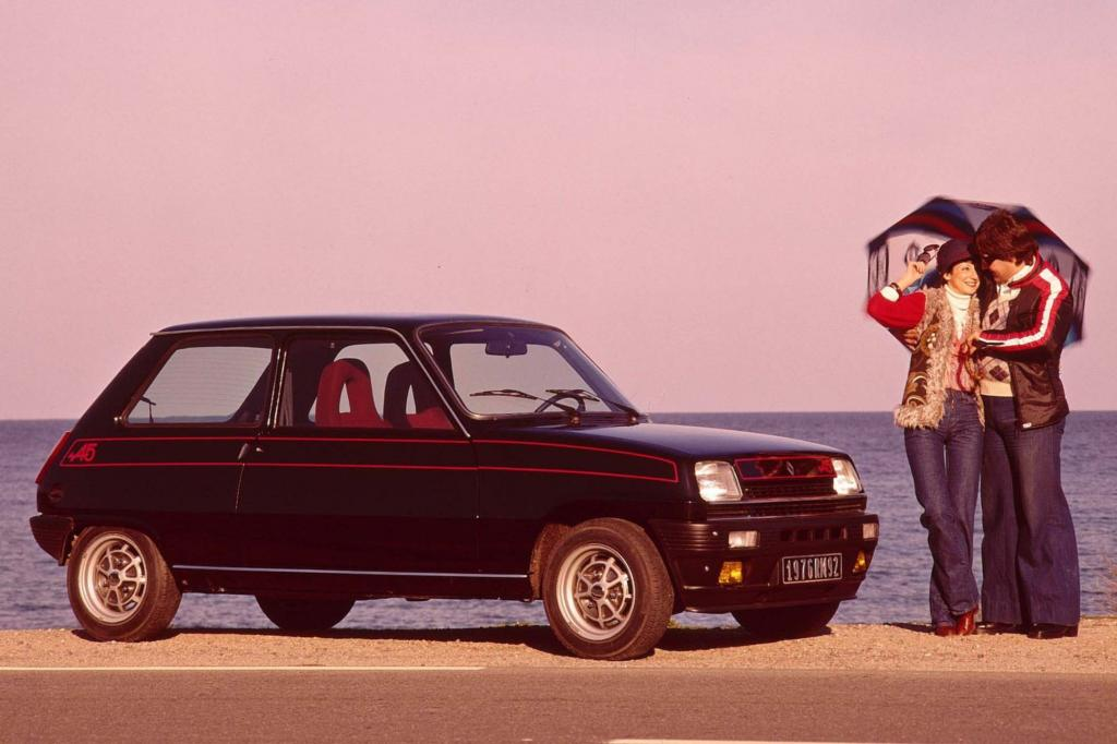 Der R 5 Alpine startete 1976