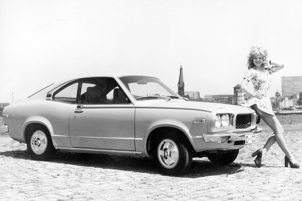 Der RX-3 war 1973 das erste Mazda-Modell in Deutschland