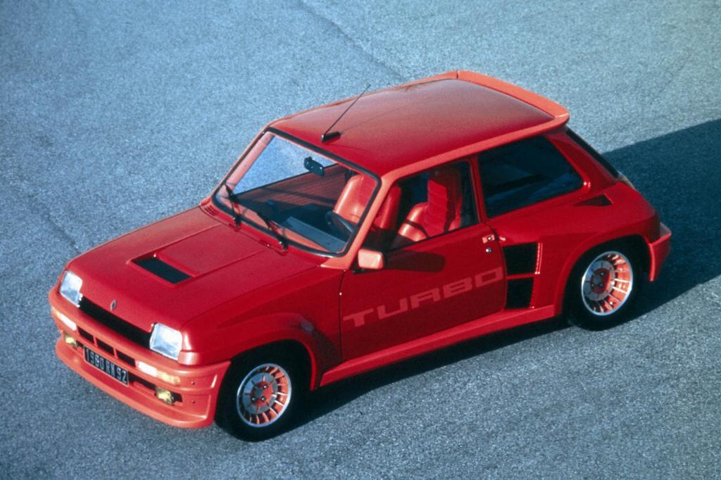 Der Renault 5 Turbo von 1981