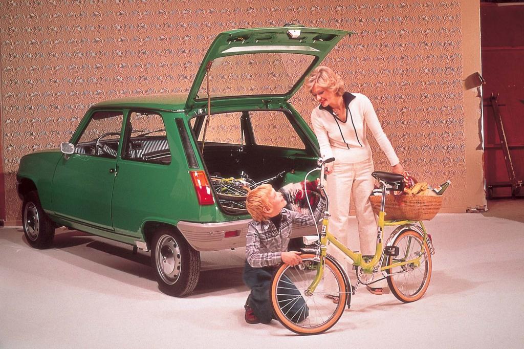 Der Renault 5 bot viel Platz auf wenig Raum