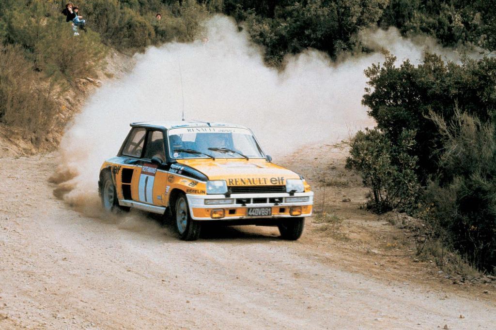 Der Turbo bei der Rallye-WM