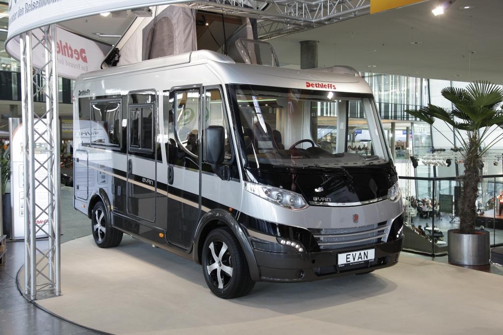 Dethleff Evan: Der Van als Reisemobil