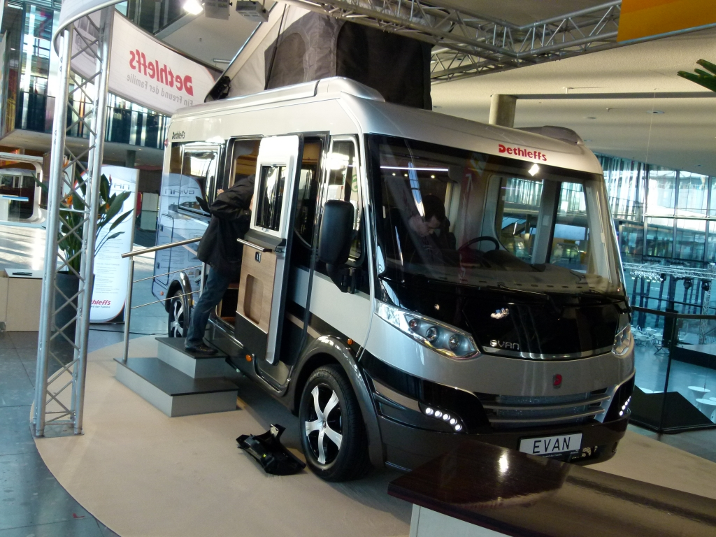 Dethleff Evan: Ein Van als Reisemobil