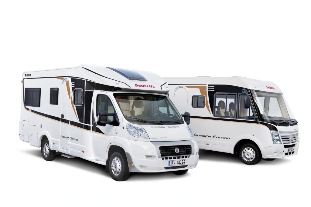 Dethleffs: Summer Edition Reisemobile läuten Saison ein
