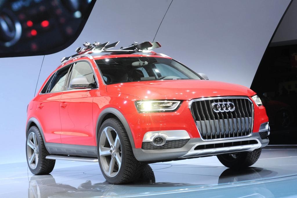 Detroit 2012: Audi Q3 Vail - Er wird kommen