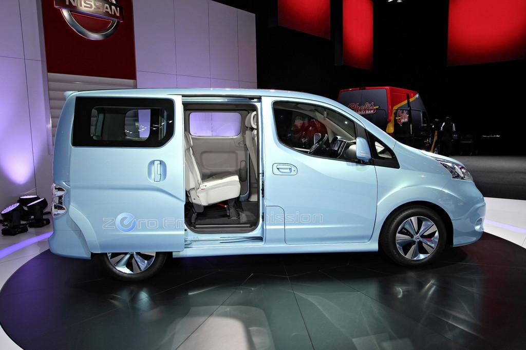 Detroit 2012: Elektrischer Kleintransporter von Nissan