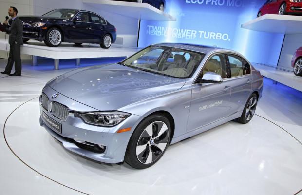 Detroit 2012: Im Herbst kommt der BMW Active Hybrid 3