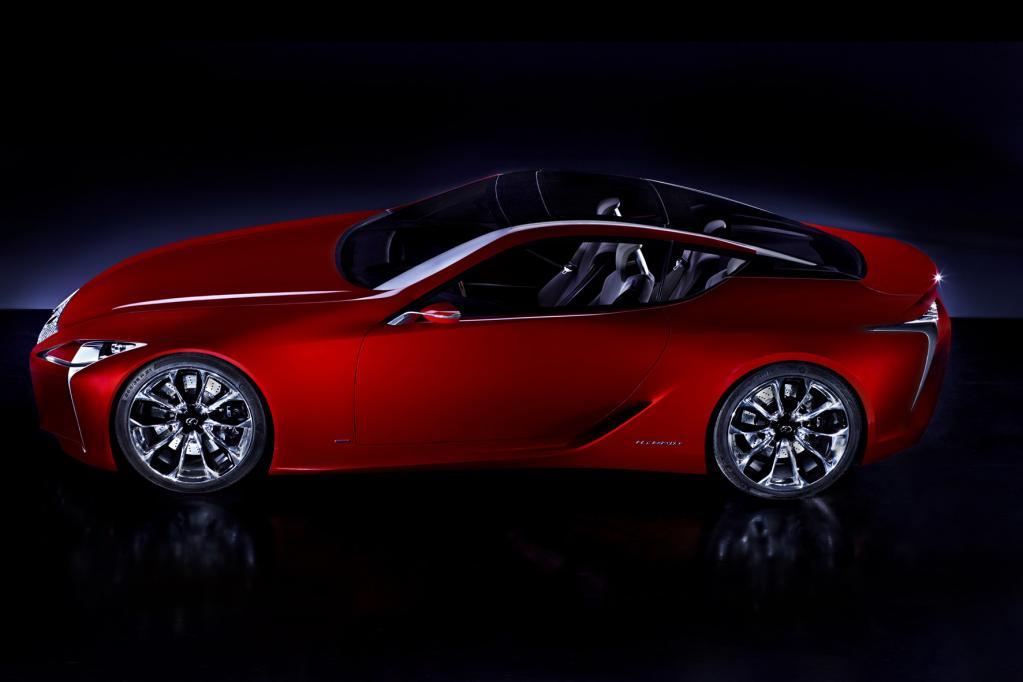 Detroit 2012: Lexus präsentiert die nächste Designstufe
