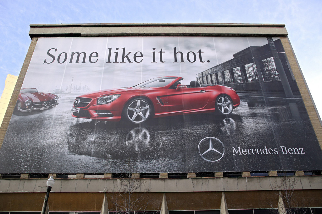 Detroit 2012: Mercedes-Benz SL setzt Maßstäbe im Segment