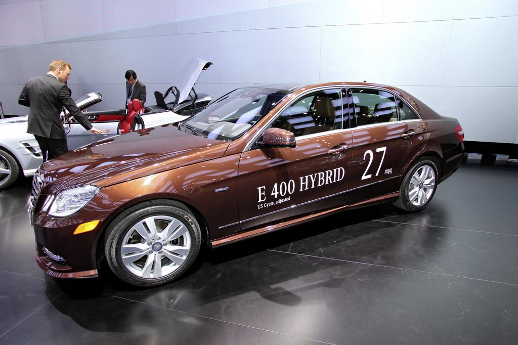 Detroit 2012: Mercedes-Benz zeigt sparsamstes Oberklasse-Modell der Welt