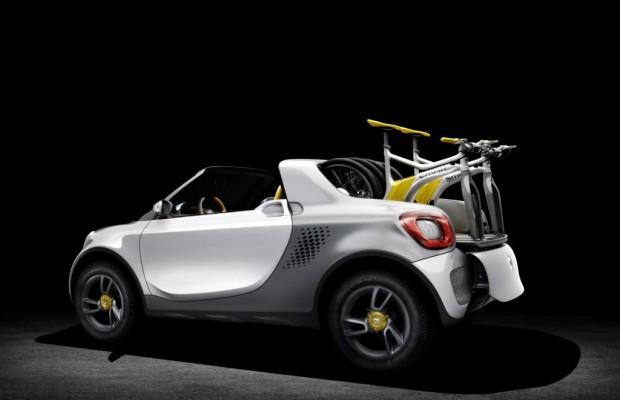 Detroit 2012: Smart For-Us - Pick-uplein mit Bordbikes