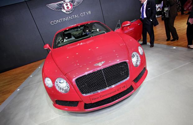 Detroit 2012: V8 hilft Bentley beim Sparen