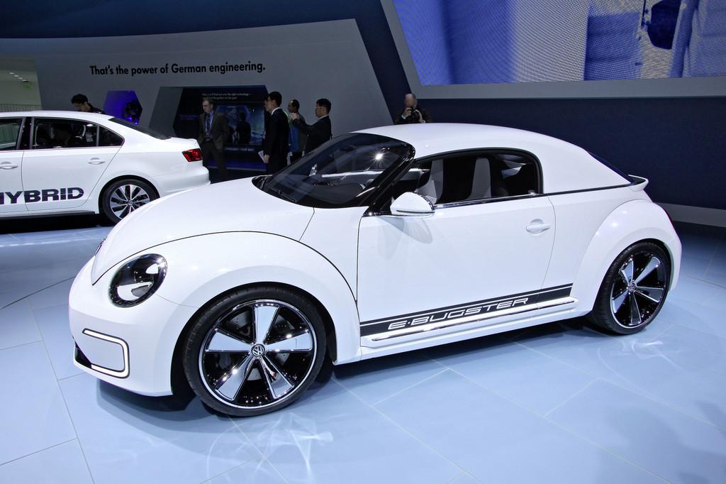 Detroit 2012: Volkswagen setzt den Beetle unter Strom