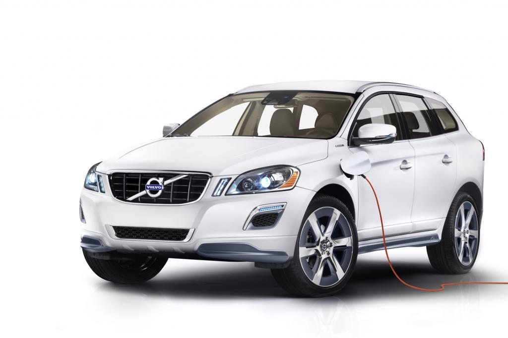 Detroit 2012: Volvo XC60 Plug-in-Hybrid Concept - Sparsam stark