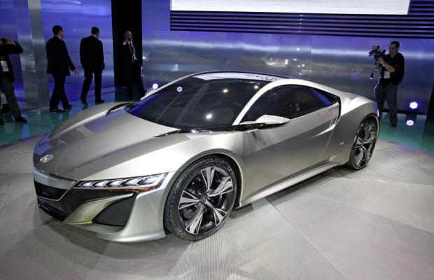 Detroit 2012: Wird der neue Honda NSX ein Hybrid?