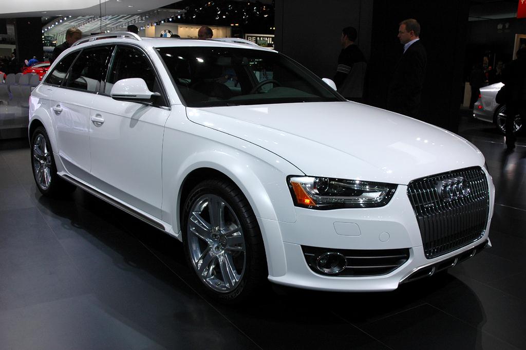Deutsche Autobauer in den USA, hier Audi mit dem A4 Allroad gerade in Detroit.