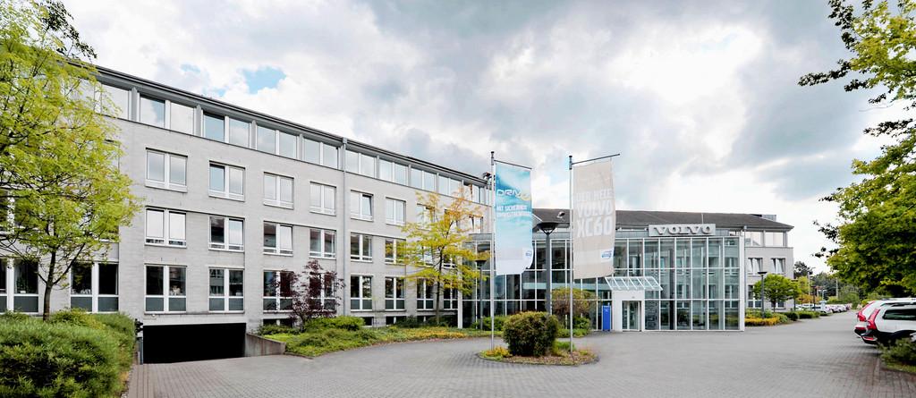 Deutschlandzentrale von Volvo in Köln-Rodenkrichen.