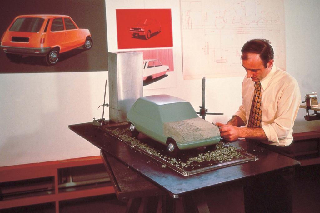Die Entwicklung startete bereits 1967 mit Designentwürfen