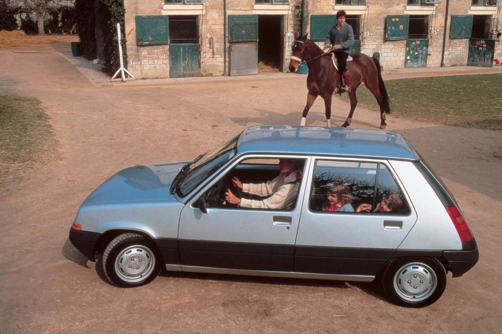 Die zweite Generation des R 5 startete 1985