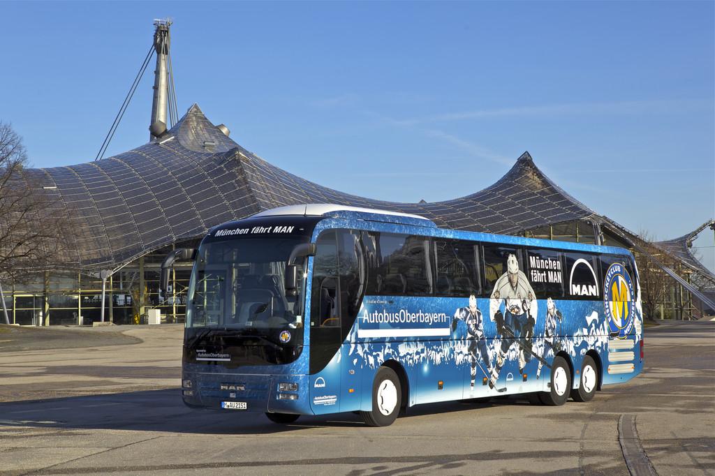 Eishockey-Team des EHC erhält MAN-Mannschaftsbus