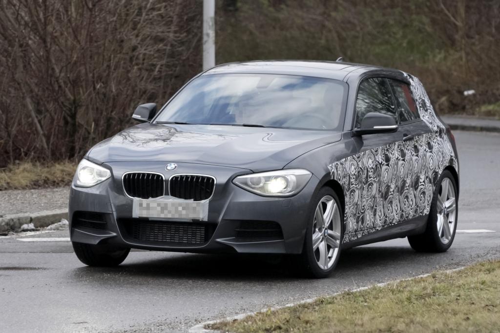 Erwischt: Erlkönig BMW 1er Dreitürer  - 1 mal 1 macht drei