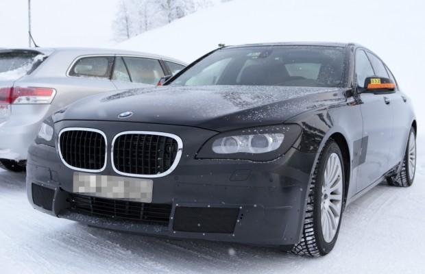 Erwischt: Erlkönig BMW 7er Facelift