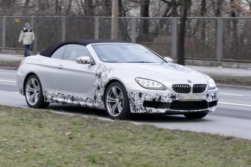 Erwischt: Erlkönig BMW M6 Cabrio
