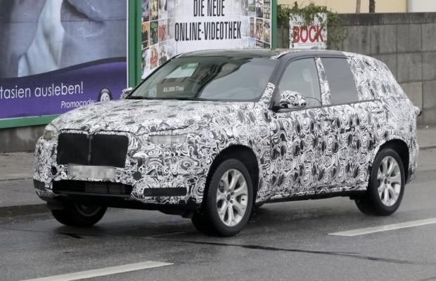 Erwischt: Erlkönig BMW X5 - Große Pläne